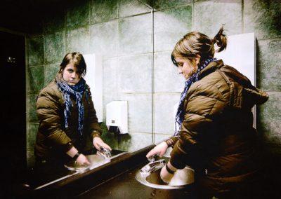 Mention : Habileté technique<br> <em>Parfois le miroir nous double</em>
