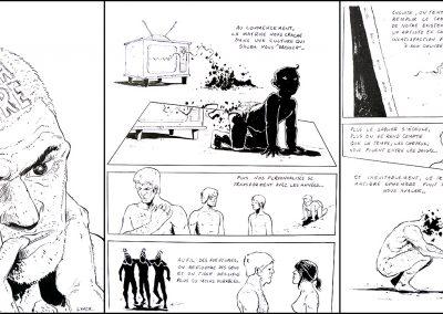 Mention : Maîtrise du dessin<br> <em>Purgatoire</em>