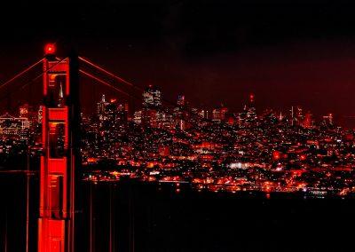 Mention :  L'impact visuel de l'image<br> <em>Liaison Nocturne</em>