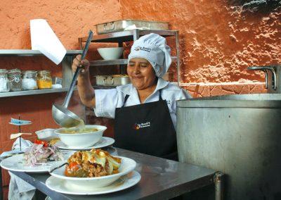 <em>La cuisine d'Arequipa</em>