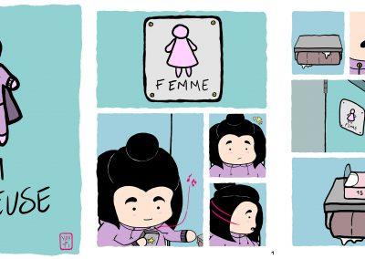 <b>2e PRIX</b><br><br> <em><b>La sauveuse</b></em>