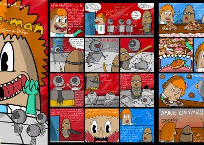<em>Les incroyables aventures de Patate-man: Le plan machiavélique du Dr.Fou</em>