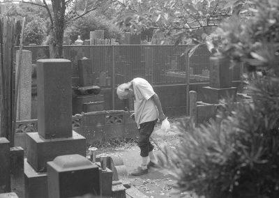 <em>Visite au cimetière</em>